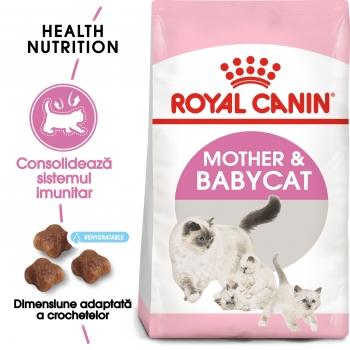 Royal Canin Mother & BabyCat, hrană uscată pisici, mama și puiul, 4kg