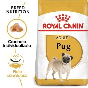 Royal Canin Pug Adult, hrană uscată câini, 1.5kg
