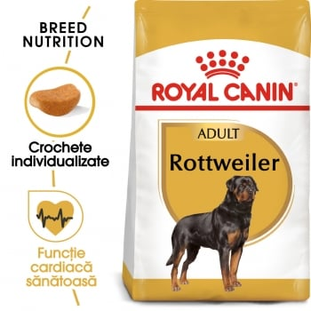 Royal Canin Rottweiler Adult, hrană uscată câini, 3kg