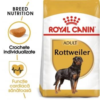 Royal Canin Rottweiler Adult, hrană uscată câini, 12kg