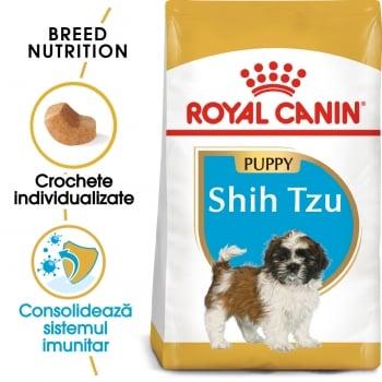Royal Canin Shih Tzu Puppy, hrană uscată câini junior, 1.5kg imagine