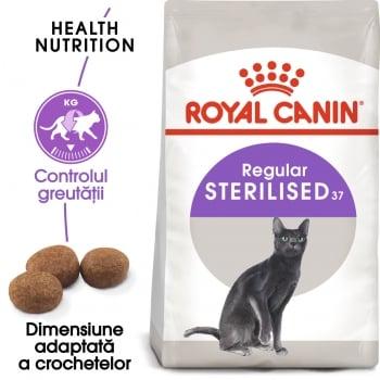 Royal Canin Sterilised Adult, hrană uscată pisici sterilizate, 2kg
