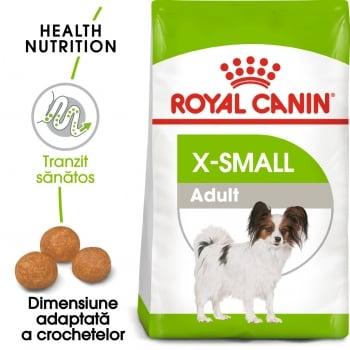 Royal Canin X-Small Adult, hrană uscată câini, 500g