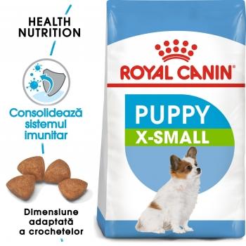 Royal Canin X-Small Puppy, hrană uscată câini junior, 1.5kg