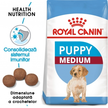 Royal Canin Medium Junior (Puppy), 15 kg