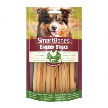 SMARTBONES Classics Chicken Sticks, recompense câini, Batoane aromate Pui, 5buc