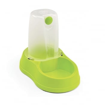 STEFANPLAST Break réserve, adăpătoare, plastic cu antiderapant, 1.5L, verde lime