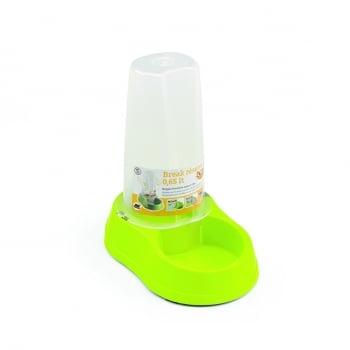 STEFANPLAST Break réserve, hrănitor și adăpătoare, plastic cu antiderapant, 0.65L, verde lime