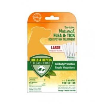 Set 3 Pipete Pentru Caini Tropiclean Spot On L, 5 ml imagine