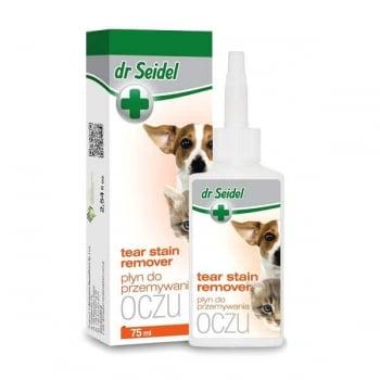 Solutie Perioculara Pentru Caini Si Pisici Dr. Seidel Oczu, 75 Ml imagine