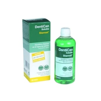Solutie Pentru Igiena Bucala A Cainilor Si Pisicilor Dentican Solubil, 250 ml imagine