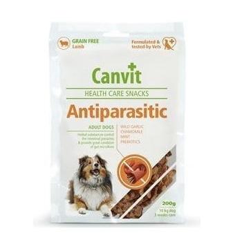 Snack pentru Caini Canvit Anti-Parasitic, 200 g imagine