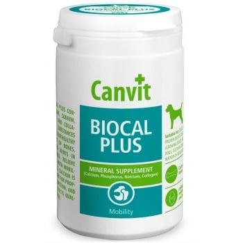 Supliment Nutritiv pentru Caini Canvit Biocal Plus, 320 g imagine