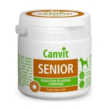 Supliment Nutritiv pentru Caini Canvit Senior, 500 g imagine