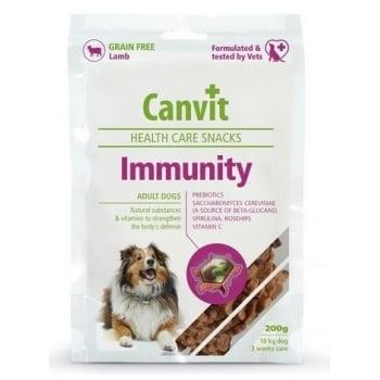Snack pentru Caini Canvit Immunity 200 g imagine