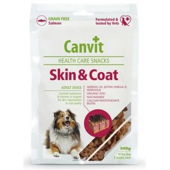 Snack pentru Caini Canvit Skin & Coat, 200 g imagine