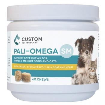 Suplimente Pentru Caini Si Pisici Pali-Omega SM, 60 tablete imagine