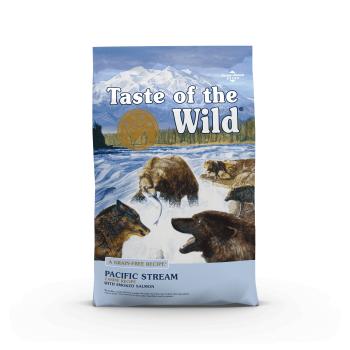TASTE OF THE WILD Pacific Stream, Somon, hrană uscată fără cereale câini, 12.2kg