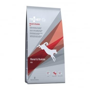 TROVET Dog Renal & Oxalate RID , dietă veterinară câini, hrană uscată, afecțiuni renale si urinare (oxalați), 12.5kg