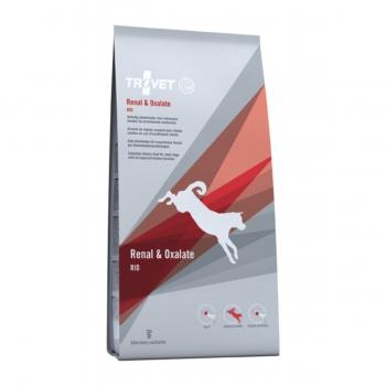 TROVET Dog Renal & Oxalate RID , dietă veterinară câini, hrană uscată, afecțiuni renale si urinare (oxalați), 3 kg