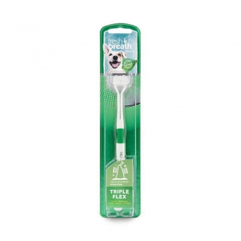 Triple Flex Toothbrush TropiClean For Small Dogs S imagine