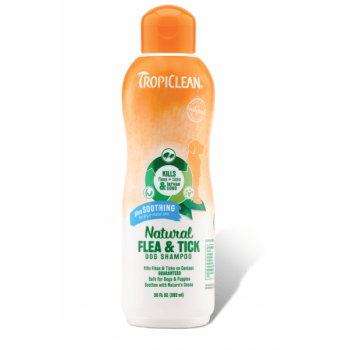 Tropiclean Natural Flea And Tick Shampoo Maximum Strength, 592 Ml