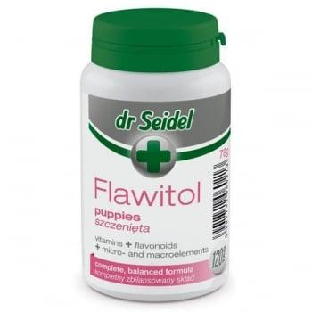 Vitamine Si Minerale Pentru Caini Dr. Seidel Flawitol Puppy, 120 Tablete imagine