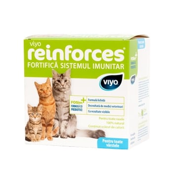 Viyo Reinforces for Cats All Ages, 7 x 30 ml