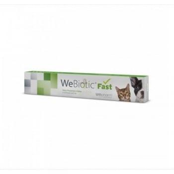 WEPHARM WeBiotic Fast, suplimente digestive câini și pisici, pastă orală, 12ml