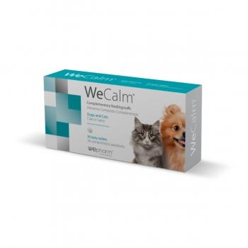 WEPHARM WeCalm, suplimente calmante câini și pisici, 30cpr
