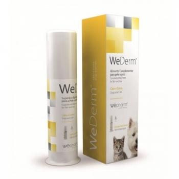 WEPHARM WeDerm, suplimente piele și blană câini și pisici, suspensie orală, 30ml