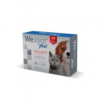 WEPHARM WeJoint Plus S, suplimente articulare câini și pisici, 30tbs