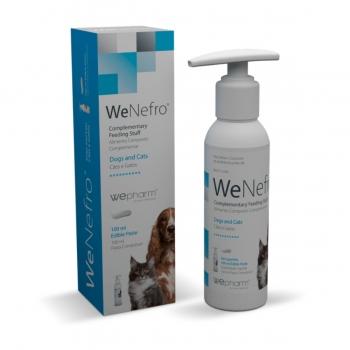 WEPHARM WeNefro Oral Gel, suplimente renale câini și pisici, pastă orală, 250ml
