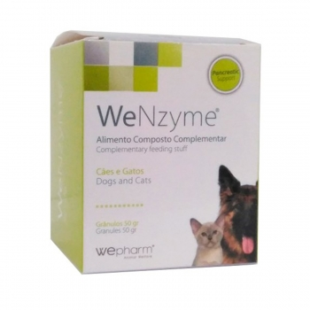 WEPHARM WeNzyme, suplimente digestive câini și pisici, granule palatabile, 50g
