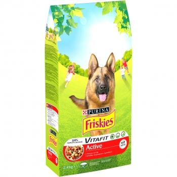 Friskies Dog Active Carne, 2.4 kg