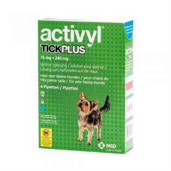 Activyl Tick Plus Toy Dog 75mg