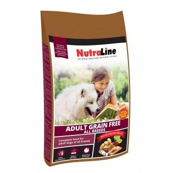 Nutraline Dog Adult Grain Free, 12.5 kg imagine