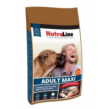 Nutraline Dog Adult Maxi, 3 kg imagine