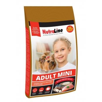 Nutraline Dog Adult Mini, 1 kg imagine