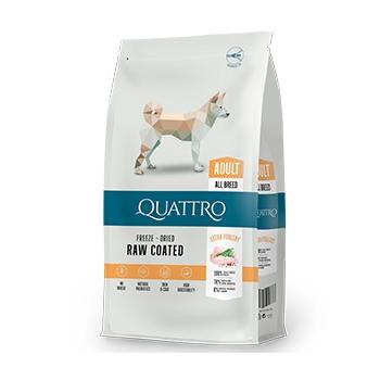 Pachet 2 x Quattro Premium Dog Adult All Breed cu Pui,12 kg imagine