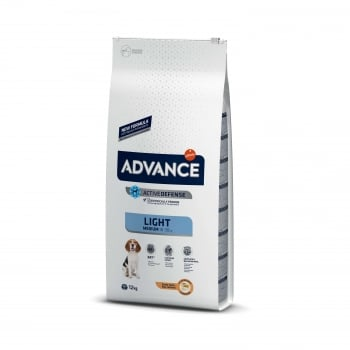 Advance Dog Medium Adult Light, 12 kg