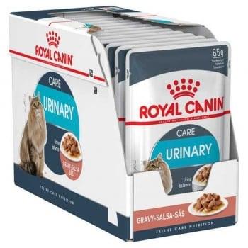 Royal Canin Urinary Care Adult, bax hrană umedă pisici, sănătatea tractului urinar, (în sos), 85g x 24 imagine