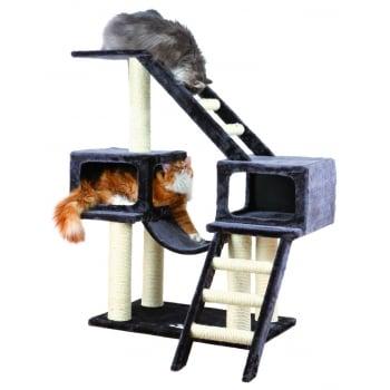 Ansamblu de Joaca pentru Pisici Malaga Antracit 109 cm