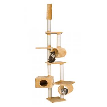 Ansamblu de Joaca pentru Pisici Gigant 265 cm Bej