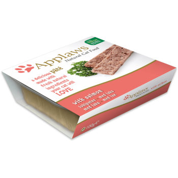 Applaws Cat Pate cu Somon 100g
