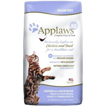 Applaws Cat Adult Pui si Rata 7,5 kg