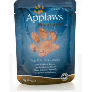 Applaws Cat Adult File de Ton si Dorada Plic 70 g