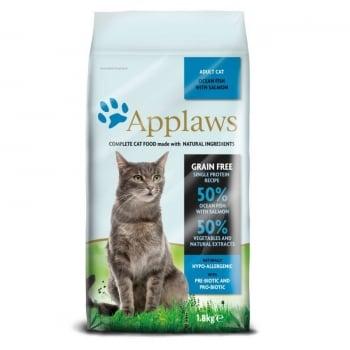 Applaws Cat Adult Peste Oceanic si Somon, 1.8 kg