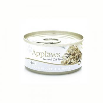 Applaws Cat Adult File de Ton si Branza 70 g