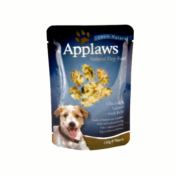 Applaws Dog Adult Pui  Somon si Alge plic 150 g